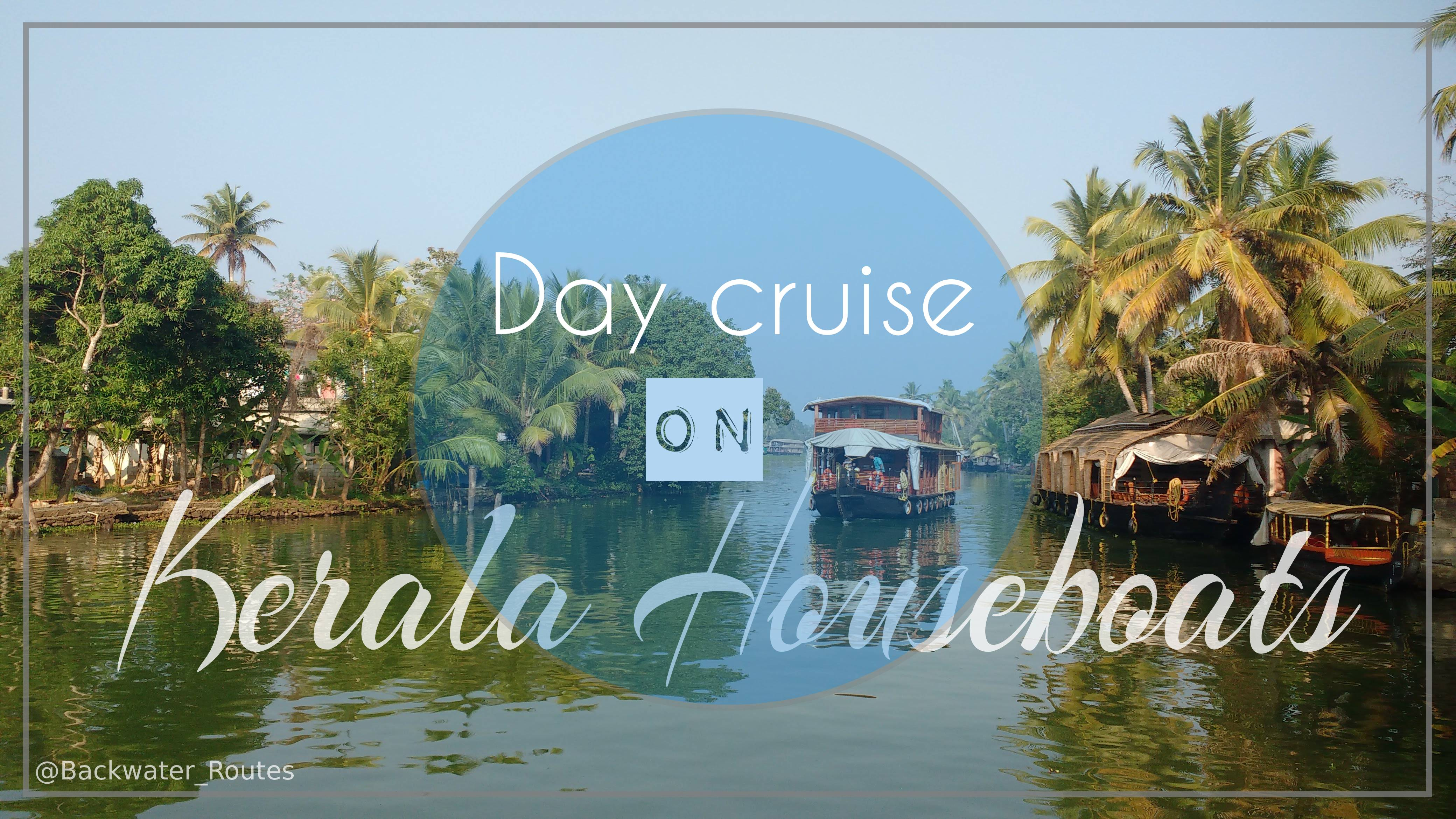 Day cruise on Kerala Houseboat